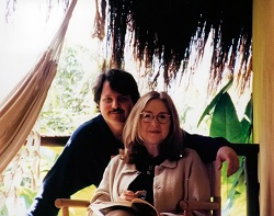 Ellen and Roger in Brazil 2002